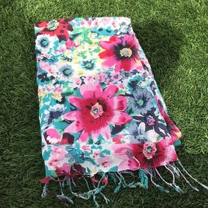 Gorgeous floral scarf